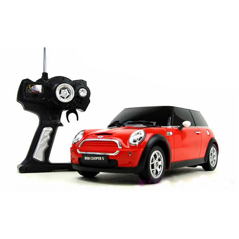 Rastar 1/14 Scale Red Mini Cooper S Liciense RC Model Car RTR