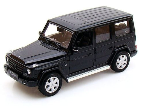 1:24 Scale Black Mercedes G Class Diecast Model Car by Welly