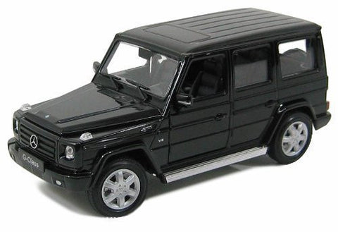 Welly 1:24 Black Mercedes G Class Diecast Model Car