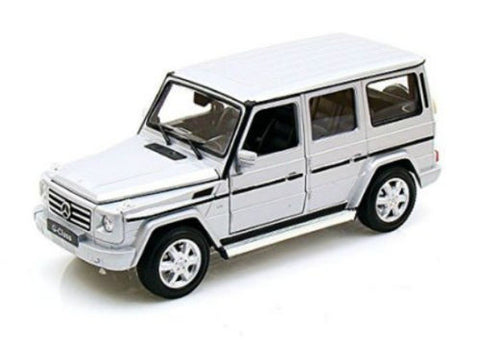 Welly 1:24 White Mercedes G Class Diecast Model Car
