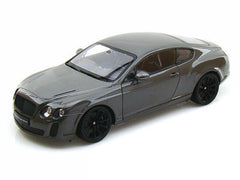 1:24 Scale Grey Bentley Continental Supersports Diecast Car Model by Welly