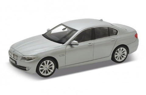 Welly 1:24 Scale 2010 Grey BMW (F10) 535i 5 Series Diecast Model Car