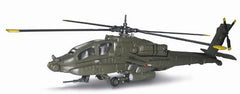 NEW RAY 1:55 GREEN APACHE AH64 HELICOPTER