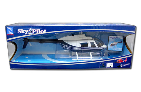 NEW RAY 1:43 BELL 206 POLICE HELICOPTER