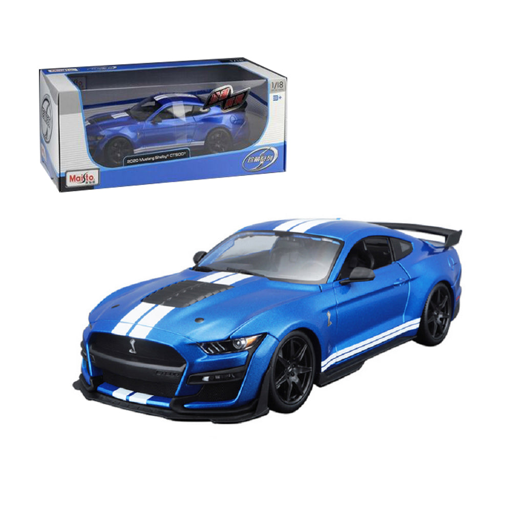 Details about  /1//18 2020 Ford Mustang Shelby GT500 Maisto 31388 Diecast Model Car Gifts Blue