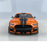 MAISTO 1/18 SCALE 2020 ORANGE FORD SHELBY GT500 MUSTANG DIECAST MODEL 31388ORG