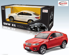 Rastar 1/14 Scale Red BMW X6 Licensed RC Model Car RTR