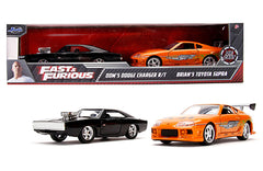 JADA 1/32 SCALE DODGE CHARGER R/T & TOYOTA SUPRA FAST & FURIOUS MOVIE 2 PACK 31981