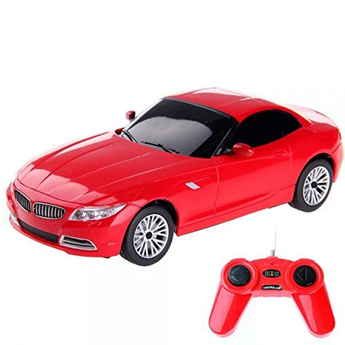 Rastar 1/24 Scale Red BMW Z4 Electric Authentic Body Styling Licensed RC Model Car RTR