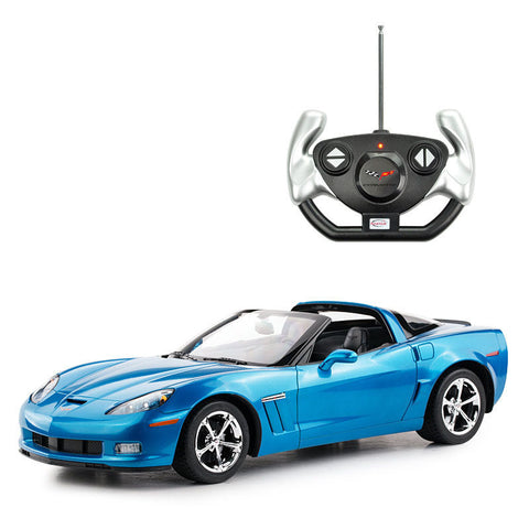 Rastar 1/12 Scale Blue Chevrolet Corvette C6 G5 Liciensed RC Model Car RTR