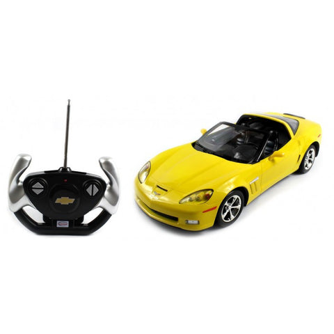 Rastar 1/12 Scale Yellow Chevrolet Corvette C6 G5 Liciensed RC Model Car RTR