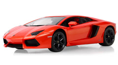 Rastar 1/14 Scale Orange Lamborghini Aventador LP700 Licensed RC Model Car RTR