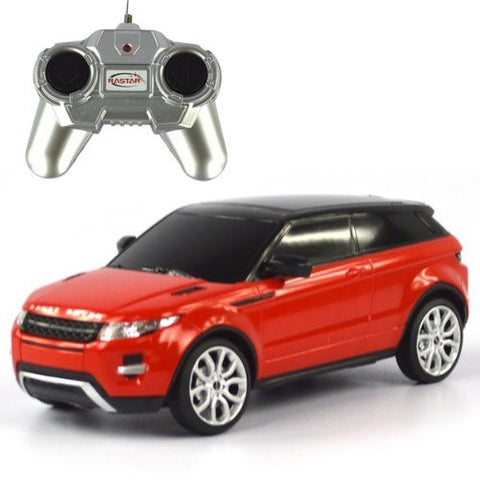 Rastar 1/24 Scale Red RangeRover Evoque Licensed Model RC Car RTR