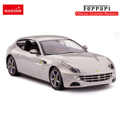 Rastar 1/14 Scale Silver Ferrari FF Licensed RC Model Car RTR
