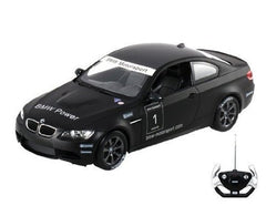 Rastar 1/14 Scale Flat Black BMW M3 Motorsport Licensed RC Model Car RTR