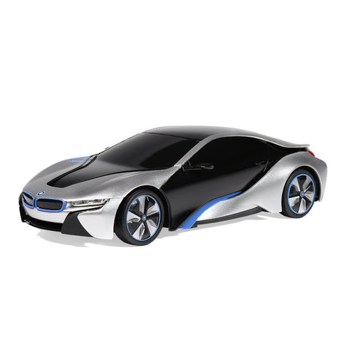 Rastar 1/24 Scale Silver BMW I8 Radio Remote Control Sport Racing Car RTR