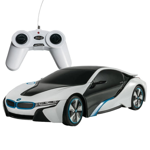 Rastar 1/24 Scale White BMW I8 Radio Remote Control Sport Racing Car RTR