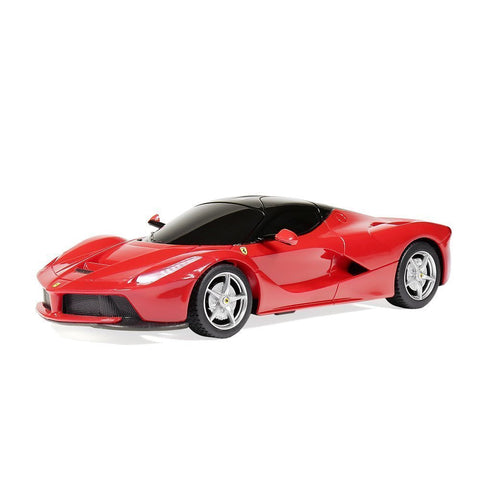 Rastar 1/24 Scale Red Ferrari LaFerrari Licensed RC Sport Racing Car RTR