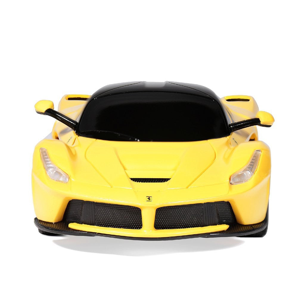 Rastar 1/24 Scale Yellow Ferrari LaFerrari Licensed RC Sport Racing Car RTR