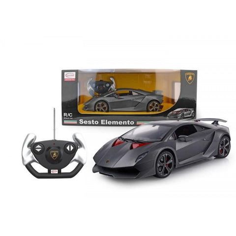Rastar 1/14 Scale Lamborghini Sesto Elemento Licensed RC Model Car RTR