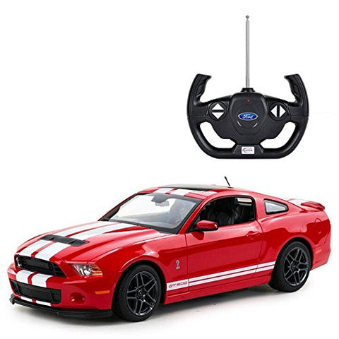 Rastar 1/14 Scale Red Ford Shelby GT500 Licensed RC Model Car RTR