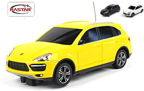 Rastar 1/32 Scale Yellow Mini Porsche Cayenne RC Model Car RTR