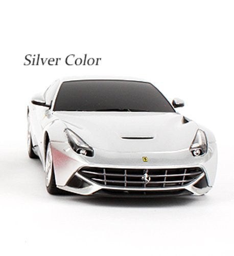 Rastar 1/18 Scale Silver Ferrari F12 RC Model Car