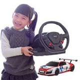 Rastar 1/18 Scale Silver/Red Audi R8 LMS Performance Model RC Car With Steering Controller