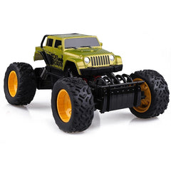 Rastar 1/18 Scale Green Off Roader Laserstar 4X4 Rock Crawler Radio Romote Control Truck