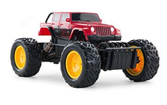 Rastar 1/18 Scale Red Off Roader Laserstar 4X4 Rock Crawler Radio Romote Control Truck