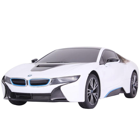 Rastar 1/18 Scale White BMW I8 Concept Edrive Electric RC Model Car RTR