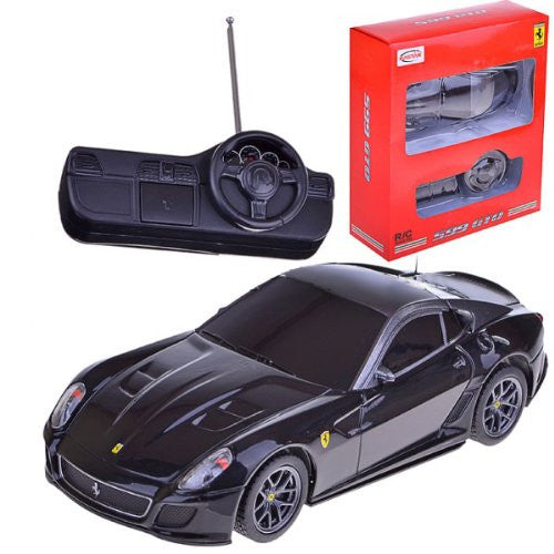 Rastar 1/32 Scale Black Mini Ferrari 599 GTO RC Model Car RTR