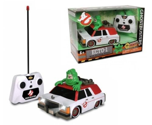 Nkok 1/24 Scale Ghostbuster ECTO-1 With Glowing Slime RC Movie Car