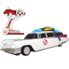 Nkok 1/14 Scale Ghostbuster Movie ECTO-1 With Working Light Licensed RC Car RTR