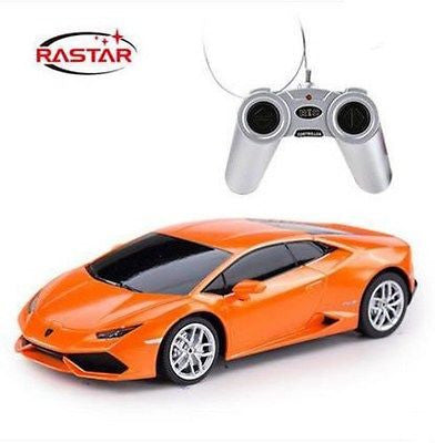 Rastar 1/14 Scale Orange Lamborghini Huracán LP 610-4 Licensed R/C Model Car RTR