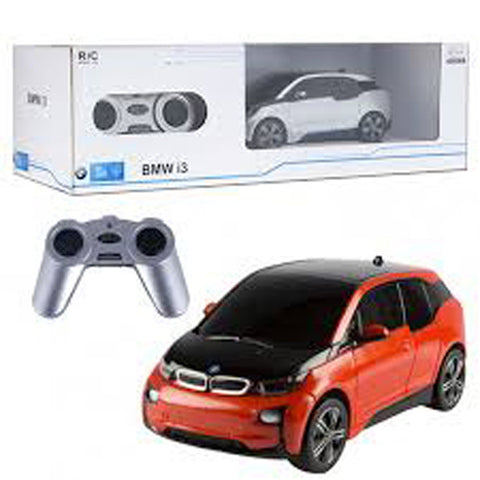 Rastar 1/24 Scale Orange BMW i3 Electric Authentic Body Styling RC Model Car