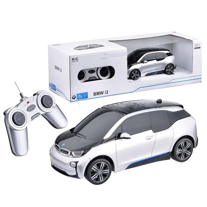 Rastar 1/24 Scale Silver BMW i3 Electric Authentic Body Styling RC Model Car