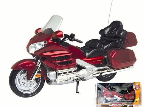 HONDA GOLDWING 1:6 SCALE DIECAST MOTORCYCLE BY MOTORMAX