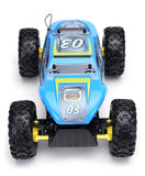 Maisto 1/14 Scale Sky Blue Rock Crawler Extreme Off-road Monster RC Truck