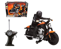 Maisto1/7 Scale Black/Orange Harley Davidson XL 1200 Nightster RC Motorcyle RTR