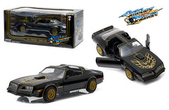 "GreenLight 1:24 Scale 1977 Pontiac Trans Am Black ""Smokey and the Bandit"" Movie Licensed Diecast Model Car"