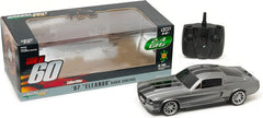 "Greenlight 1/18 Scale Silver1967 Ford Shelby Mustang GT500 ""Eleanor"" ""Gone in Sixty Seconds"" Movie (2000) RC Model Car RTR"