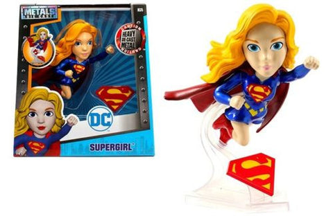 "JADA 6"" METALS - DC GIRLS - SUPERGIRL (FLYING VERSION) MOVIE FIGURE"