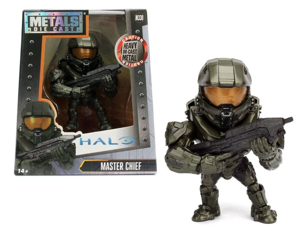 "JADA 4"" METALS - HALO - MASTER CHIEF (M330) Action Figures 97939"