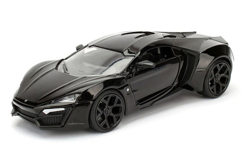 1:24 Scale Black Lykan Hypersport Diecast Model Car by Jada