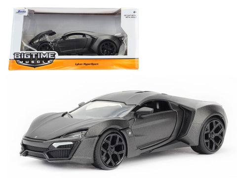 1:24 Scale Primer Gray Lykan Hypersport Diecast Model Car by Jada