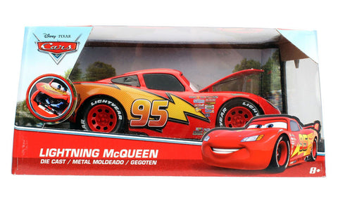 disney pixar cars movie lightning mcqueen 124 scale diecast car model by - Cars The Movie Lightning Mcqueen