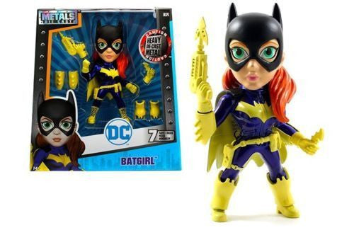 "JADA 6"" METALS - DC GIRLS - BATGIRL WITH WEAPONS MOVIE FIGURE"