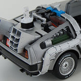 Hot Wheels Heritage 1:18 Scale Back to the Future Time Machine with Mr. Fusion Diecast Movie Car