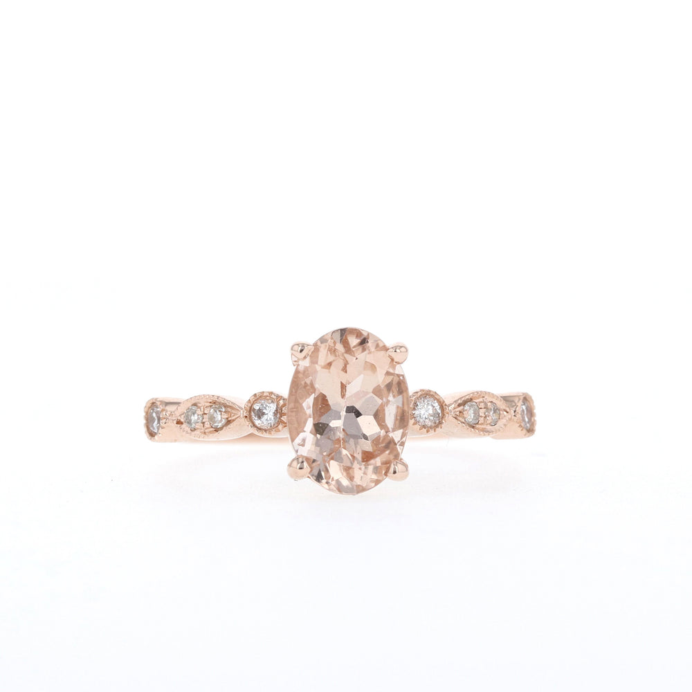 Blake/Morganite - Ready to Ship - Rose Gold